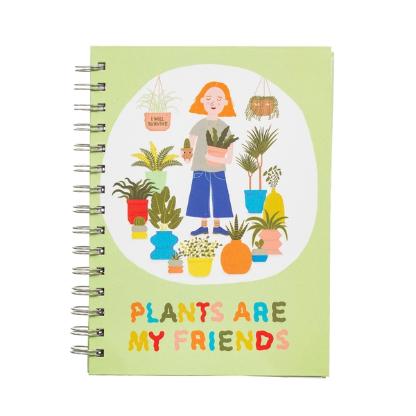 Sass & Belle Plants Are My Friends A5 Notebook