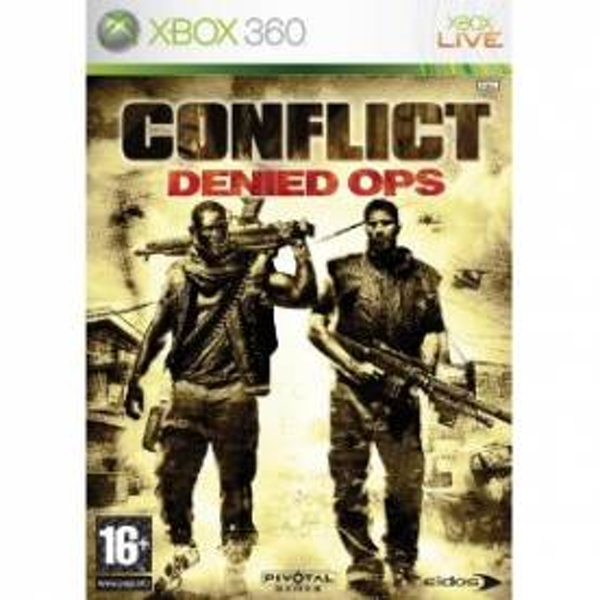 Conflict Denied Ops Game Xbox 360