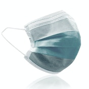 Adult's Protective Face Mask - Pack of 50