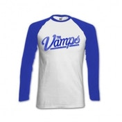 The Vamps Ball White Raglan Baseball Shirt X Large