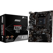 MSI A320M PRO-E Socket AM4 AMD A320 Micro ATX