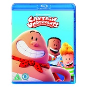 Captain Underpants (2018 Artwork Refresh) Blu-ray