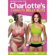 Charlotte Crosbys 3 Minute Belly Blitz DVD