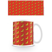 DC Originals Wonder Woman Logo Pattern Mug