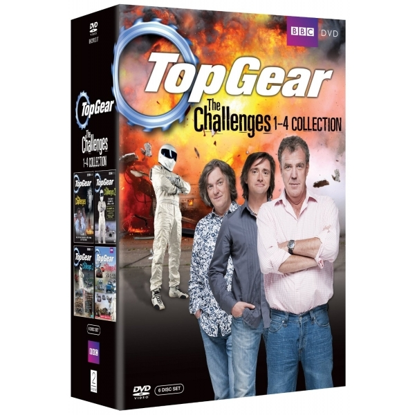 Top Gear The Challenges 1-4 DVD