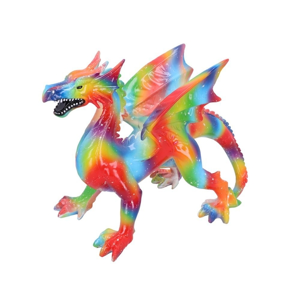 Rainbow Dragon Ornament
