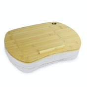 Bamboo Cushioned Laptop Tray | M&W