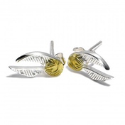 Sterling Silver Golden Snitch Stud Earrings
