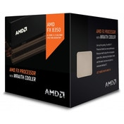 AMD FX 8350 Black Edition 4.00 GHz 8 MB 125 W Octa Core Processor with HBX Wraith Cooler