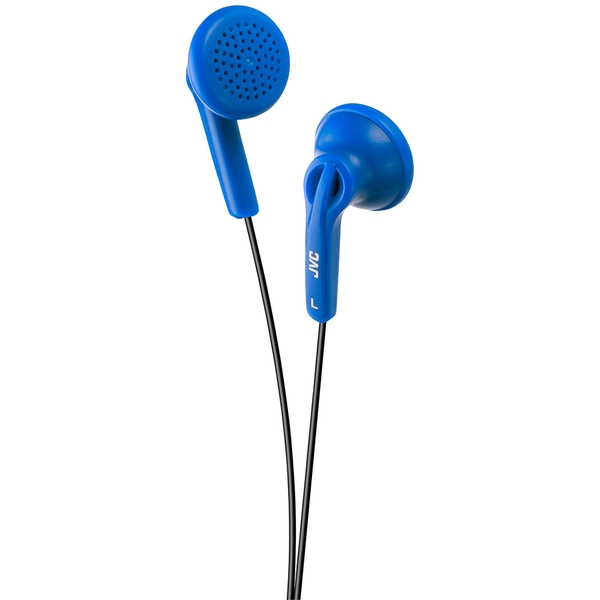 JVC HAF12A In-Ear Stereo Headphones - Blue