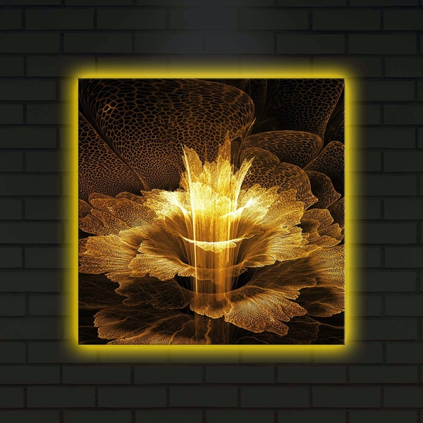 4040DACT-6 Multicolor Decorative Led Lighted Canvas Painting