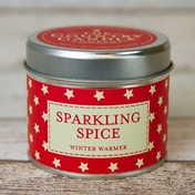 Sparkling Spice (Superstars Collection) Tin Candle