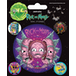 Rick and Morty - Psychedelic Visions Vinyl Sticker - Image 2