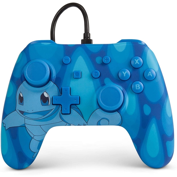 Torrent Squirtle Wired Officially Licensed Controller For Nintendo Switch
