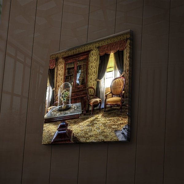 4040?ACT-49 Multicolor Decorative Led Lighted Canvas Painting