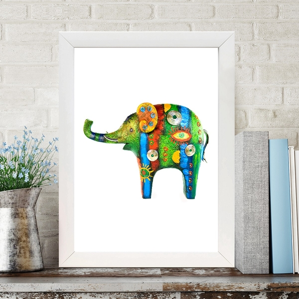 BC1932132 Multicolor Decorative Framed MDF Painting