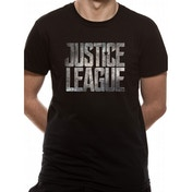 Justice League Movie - Logo Men's Large T-Shirt - Black