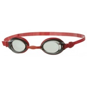 Speedo Jet Junior Swim Goggles Red/Smoke
