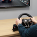 Hurricane Gaming Steering Wheel With Pedals PS4/PS3 - Image 5