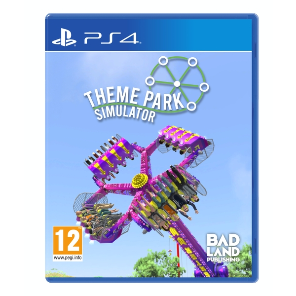 Video Games Theme Park Simulator Standard Edition PS4 Game