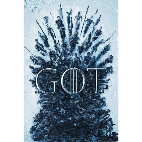 Game of Thrones Throne of the Dead Maxi Poster