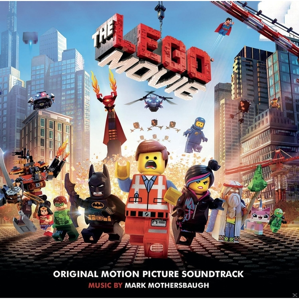 The LEGO Movie Original Motion Picture Soundtrack CD