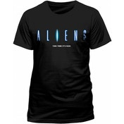 Aliens - This Time It's War Men's Small T-Shirt - Black