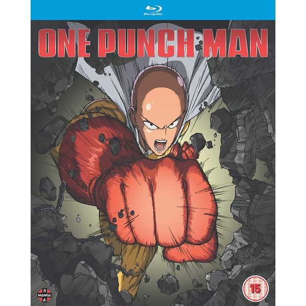 One Punch Man Collection One (Episodes 1-12 + 6 OVA) Blu-ray
