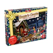 Waddingtons 2018 Christmas Puzzle 1000 Piece Jigsaw - Santa's Grotto