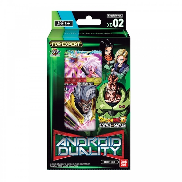 Dragon Ball Super CG: Android Duality Expert Deck XD02