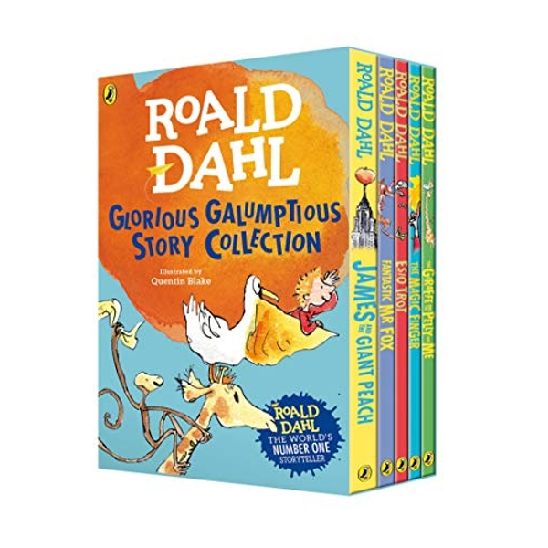 Roald Dahl's Glorious Galumptious Story Collection  Mixed media product 2009