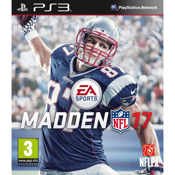 Madden NFL 17 PS3 Game