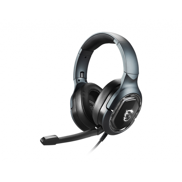 Image of MSI IMMERSE GH50 7.1 Virtual Surround Sound RGB USB Gaming Headset
