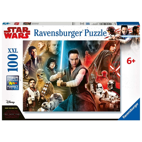Ravensburger Star Wars Episode VIII The Last Jedi - XXL 100 Piece Jigsaw Puzzle - Image 1