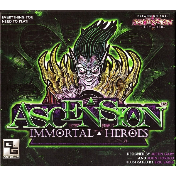 Ascension (4th Set) Immortal Heroes Expansion