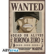 One Piece - Wanted Zoro New Maxi Poster