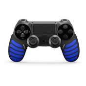 Nitho Gaming Kit Set Of Enhancers For PS4 Controllers (Black/Blue)