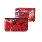 Limited Edition 3DS XL Pokemon Console Red + Pokemon X Game 3DS