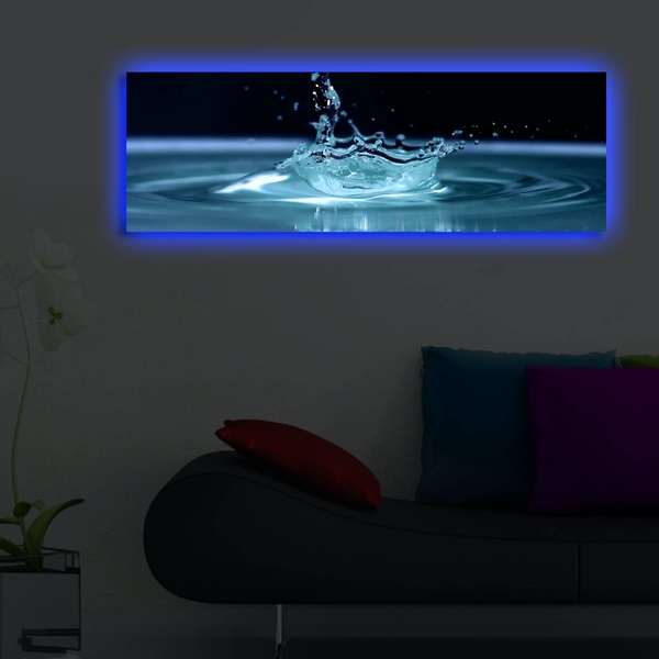 3090DACT-41 Multicolor Decorative Led Lighted Canvas Painting