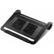 Cooler Master Notepal U2 Plus Laptop Stand with 2 x 80mm Removable Fans (Black)