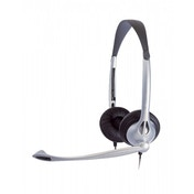 JPL Binaural Office 2.5mm Corded Headset (Black)