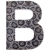 Letter B Wall Plaque