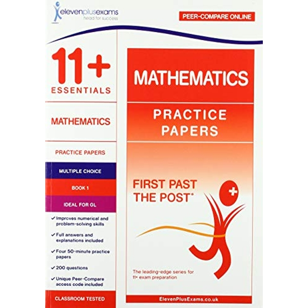 11+ Essentials Mathematics Practice Papers Book 1  Paperback / softback 2018