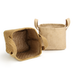 Cotton Jute Storage Baskets - Pack of 2 | M&W - Image 4