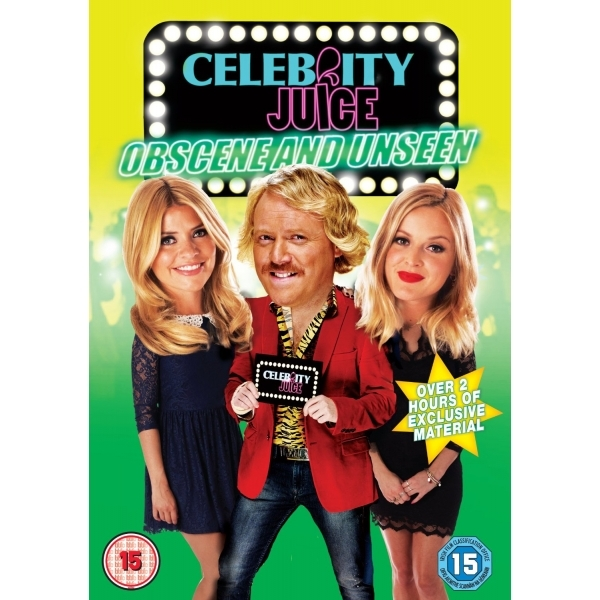 Celebrity Juice - Obscene And Unseen DVD