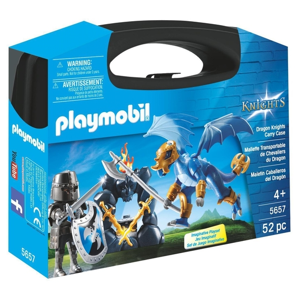 Playmobil Dragon Knights Carry Case