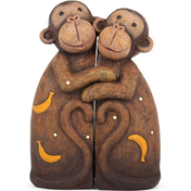 Monkey Family Figure