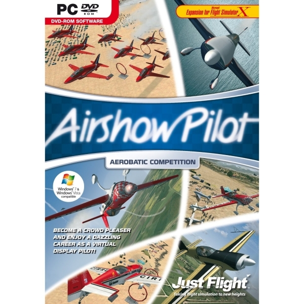 Airshow Pilot for Flight Simulator X Game PC
