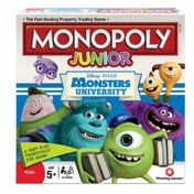Monsters University Monopoly Junior Edition