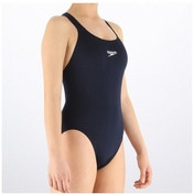 Speedo Girls End  Medalist 1 PC Suit Black 28 inch (10yrs)
